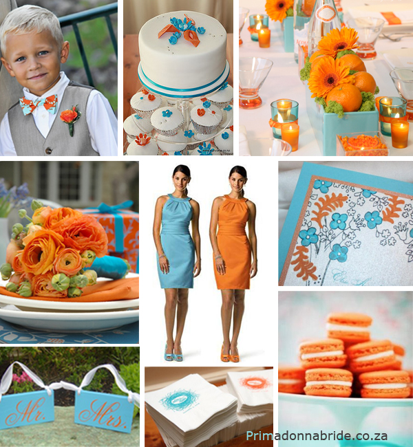 Aqua-and-orange-wedding-colours-Primadonnabride.co_.za_