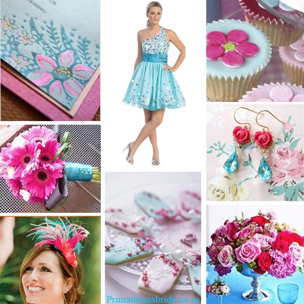 Fuschia-pink-and-aqua-wedding-colours-Primadonnabride.co_.za_