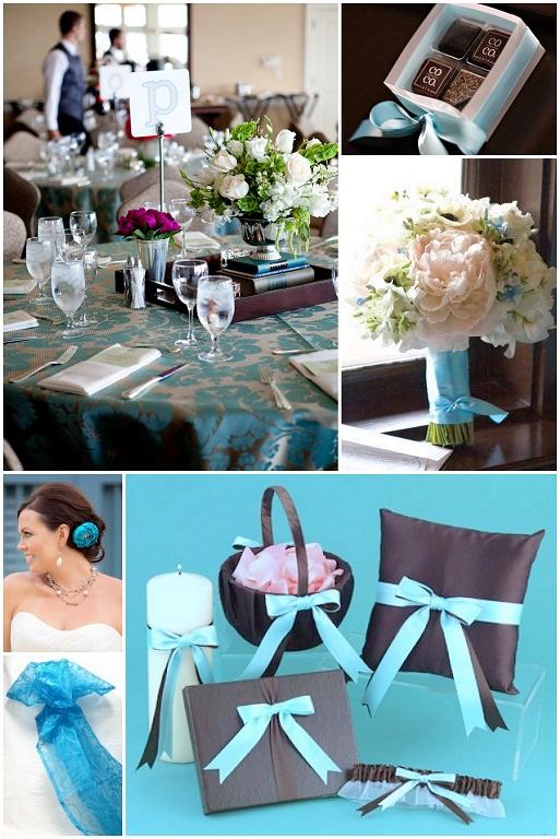 Colores para una boda en azul turquesa | La Casa de la Novia ...