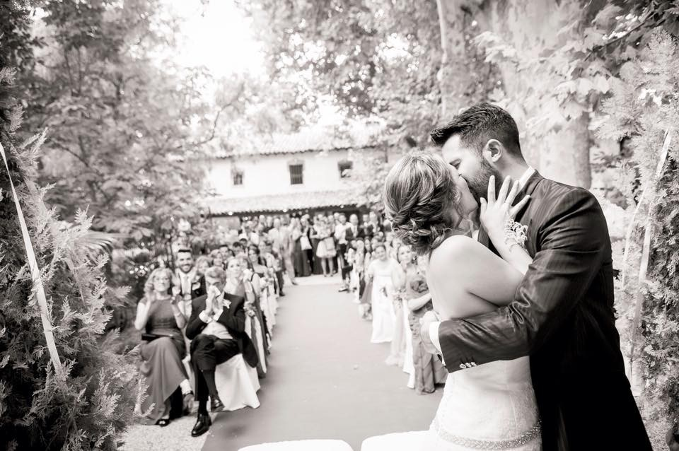 Precioso momento de la ceremonia.